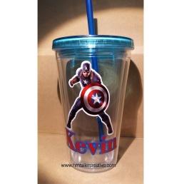 Vaso Capitán América