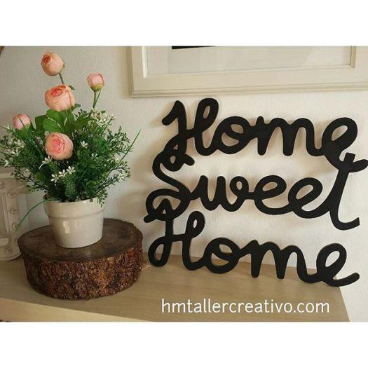 Home Sweet Home en madera!