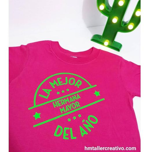 HandMade Taller Creativo-T-shirt hermana mayor