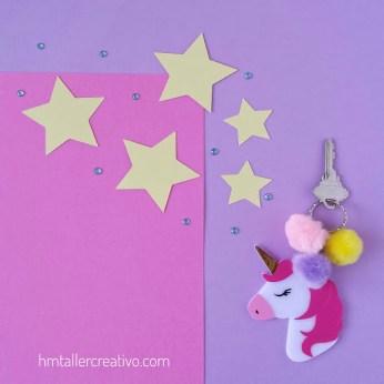 llavero unicornio-hmtc